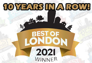 voted best in london